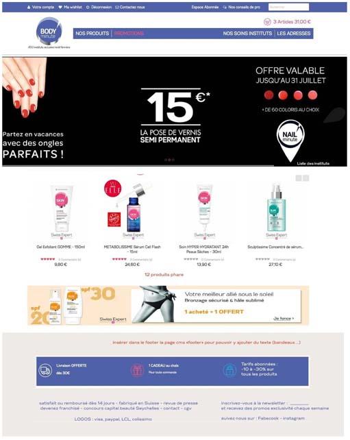 novashop, webdesign UX et e.commerce
